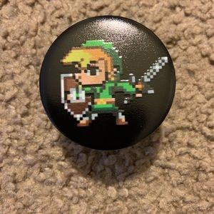 Legend of Zelda Link phone grip / phone holder